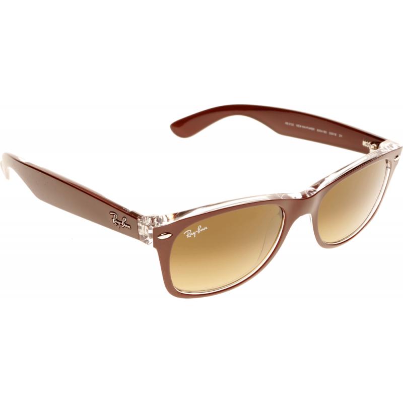ray ban wayfarer rb2132 605485 52 sunglasses shade station. Black Bedroom Furniture Sets. Home Design Ideas
