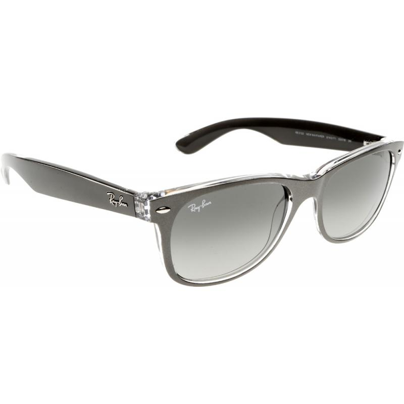 ray ban new wayfarer rb2132 614371 52 sunglasses shade. Black Bedroom Furniture Sets. Home Design Ideas