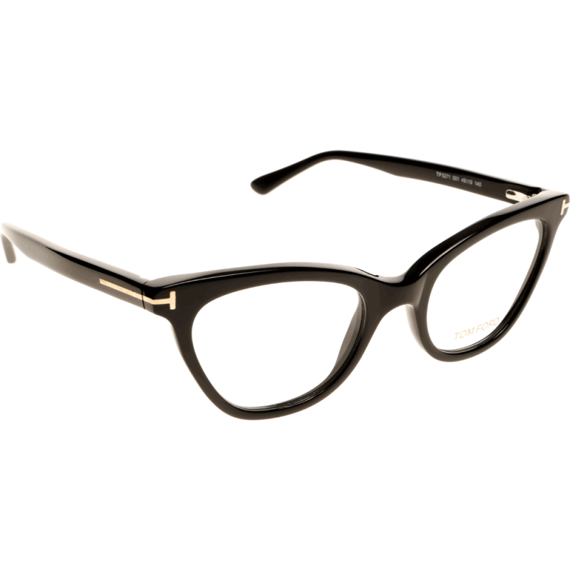 *NEW AUTHENTIC* TOM FORD, FT5271 Color 001 SHINY BLACK ...