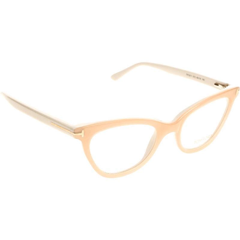 Eyeglass Frames Tom Ford : *NEW* TOM FORD, FT5271-072 SHINY PINK Eyeglass Frame 49mm ...