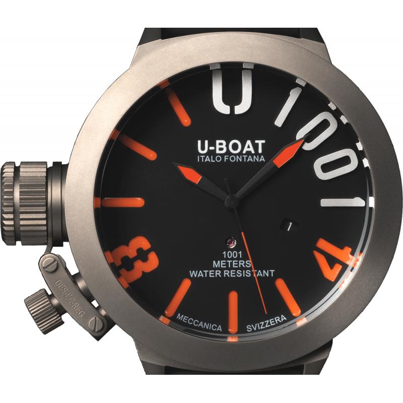 U-Boat Classico U1001 Orange Watch - Shade Station