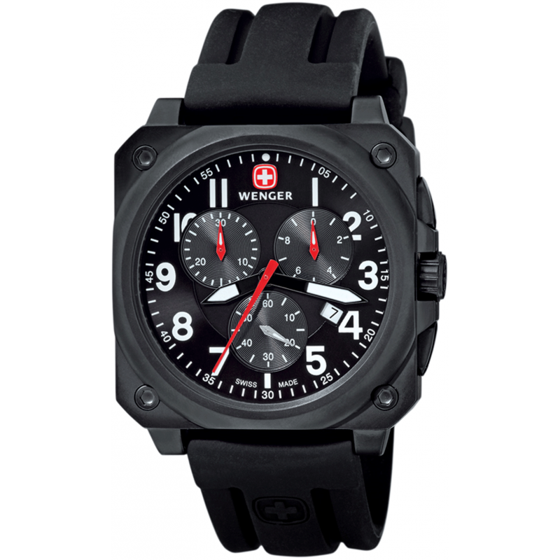Wenger aerograph cockpit chrono 77010 watch shade station for Winter watches