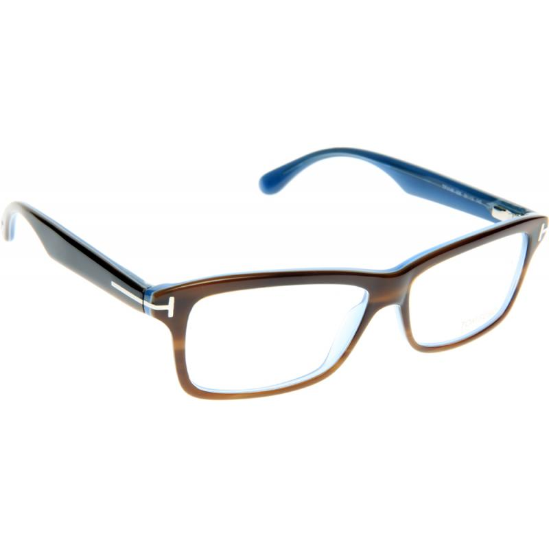 *NEW AUTHENTIC TOM FORD FT5147 056 HAVANA/BLUE EYEGLASS ...