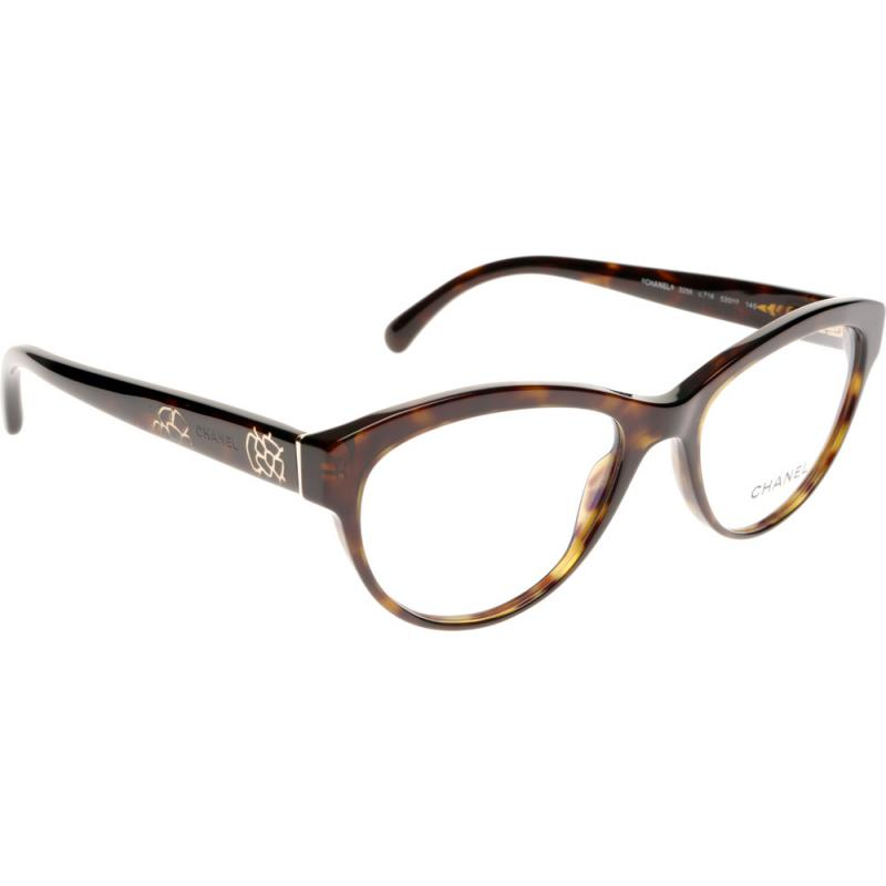 Chanel Eyeglass Frames For Less : Chanel CH3256 C714 53 Glasses - Shade Station