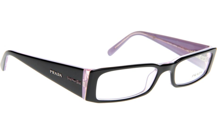 Glasses Frame Prada : Prada PR10FV 3AX1O1 53 Glasses - Free Shipping Shade Station