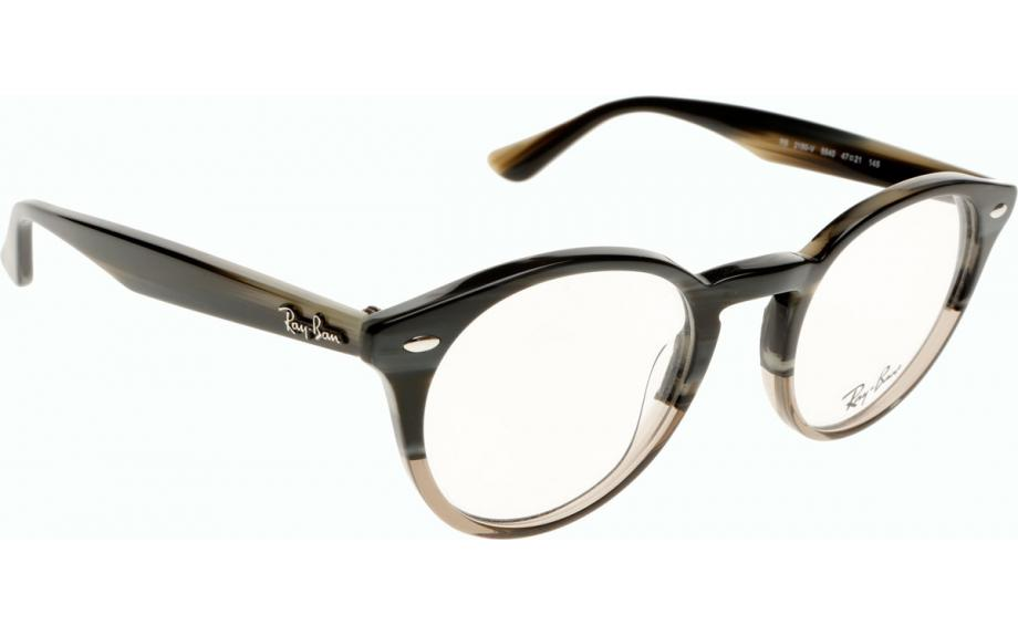 Ray-Ban RX2180V 5540 47 Glasses - Free Shipping Shade ...