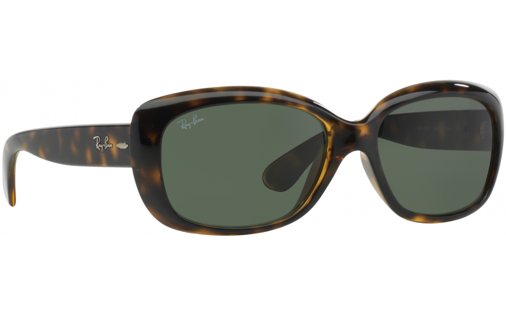 7fa14ec1cee Frame  Shiny black. Lens  Graduated grey polarised. Sunglasses. Ray-Ban  Jackie Ohh. Only £131.62. In Stock