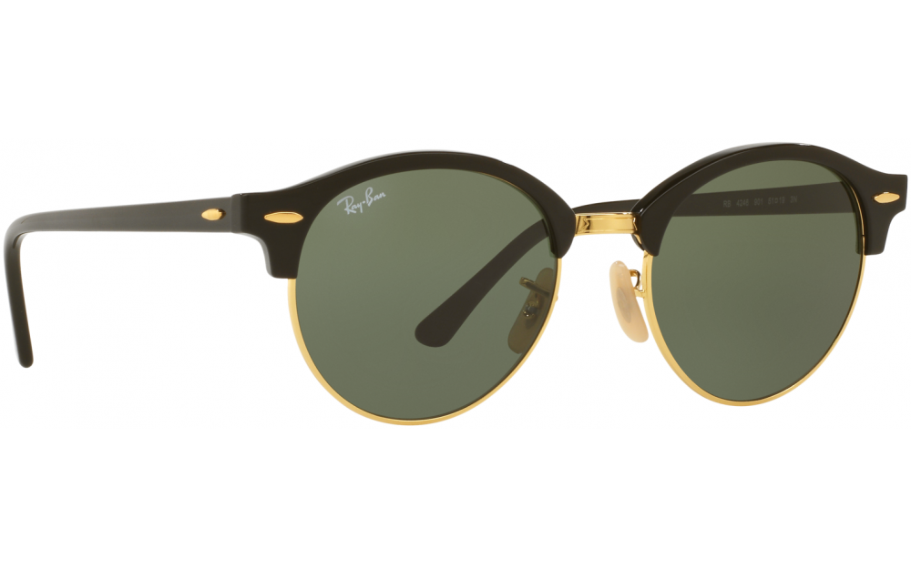 efef76db03e Sunglasses. Ray-Ban Clubround RB4246. Only £104.65. In Stock