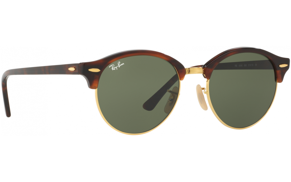 6faa9a7070 Ray Ban Clubround Wood Rb4246 - Bitterroot Public Library