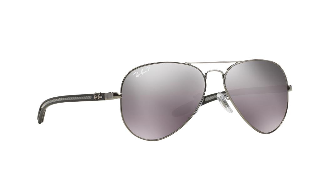 6b5e3e02c55 ... spain ray ban aviator carbon fibre sunglasses rb8307 004 n8 b5c9e d16e9