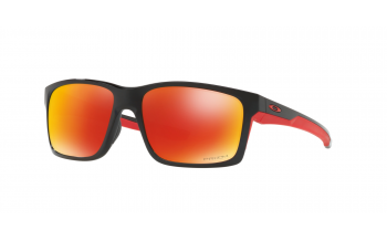 a189c9f567 Due In 7-10 Days. Frame  Polished Black. Lens  Prizm Ruby Polarised.  Sunglasses. Oakley Mainlink