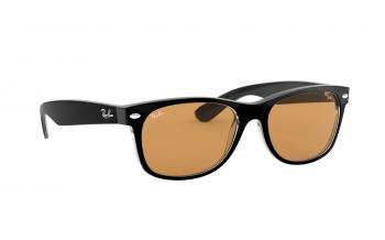 d7dad8ed4e14 Ray-Ban New Wayfarer RB2132 Prescription Sunglasses - Free Lenses ...
