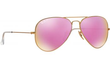 ray ban aviator pink  Ray-Ban Aviator RB3025 Sunglasses - Free Shipping