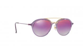 b0af0d979e Sunglasses. Ray-Ban Junior RJ9065S. Only £70.25. In Stock. Frame   Translucent violet