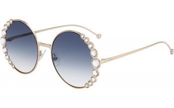 614811488a Fendi Ribbon and Crystal Sunglasses - Fendi FF0324 S - Shade Station