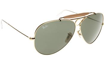 ray ban aviator glasses on sale  shooter rb3138