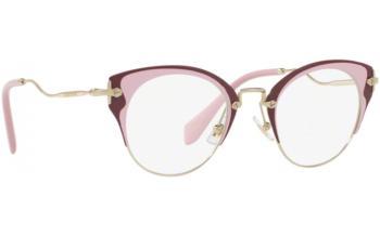 Miu Miu Purple Eyeglasses
