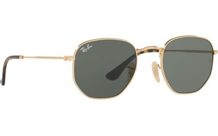 da7f19e5a6 Ray-Ban Hexagonal RB3548N 001 9O 51 Prescription Sunglasses