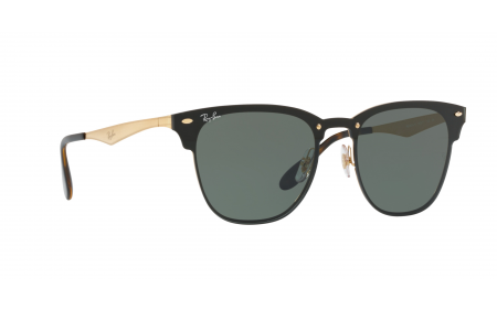 Ray-Ban Blaze Clubmaster RB3576N 043 71 41 Prescription Sunglasses ... 2893942537