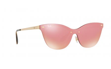961201a8b10 Ray-Ban Blaze Cat Eye RB3580N 043 71 43 Sunglasses