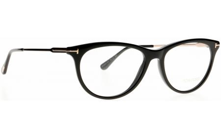 Authentic Tom Ford FT 5509 001 black Eyeglasses