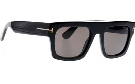 Tom Ford Fausto Ft0711 01a 53 Sunglasses Shade Station