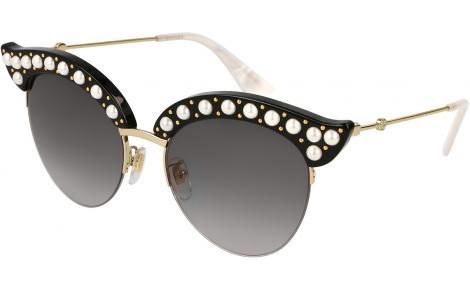 5e0229f80a1 Gucci GG0212S 001 53 Sunglasses £520.00 £444.60