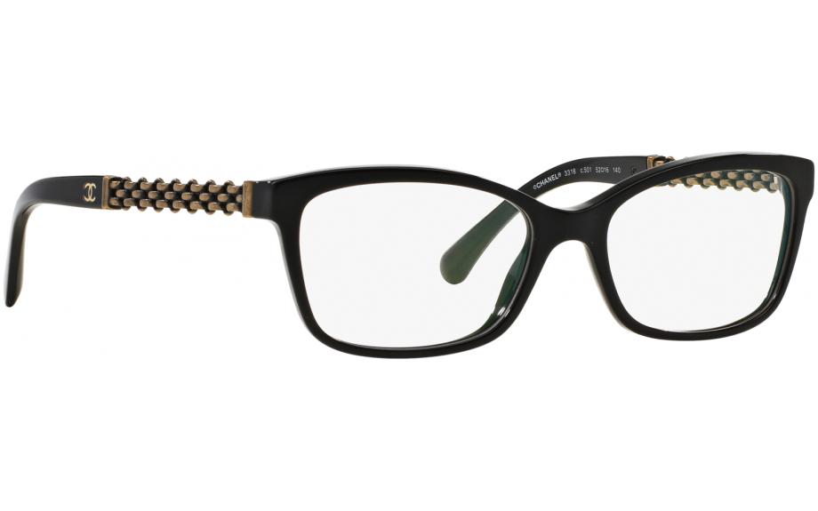 023f4e44c6 Chanel CH3318 C501 54 Prescription Glasses