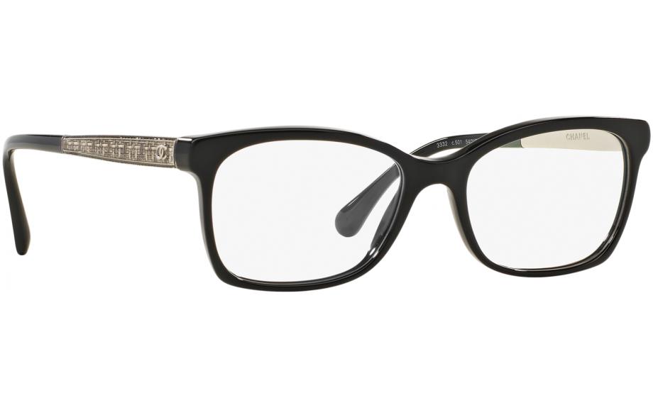 bf9f9d0c95 Chanel CH3332 C501 52 Prescription Glasses