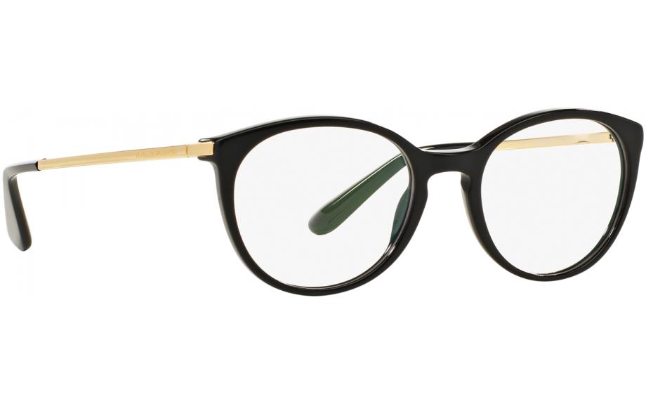 Dolce & Gabbana DG3242 501 48 Prescription Glasses | Shade Station