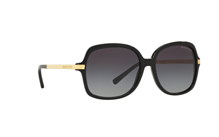 143572e4986b Frame: Black with gold plated stainless steel arms. Lens: Light grey  gradient