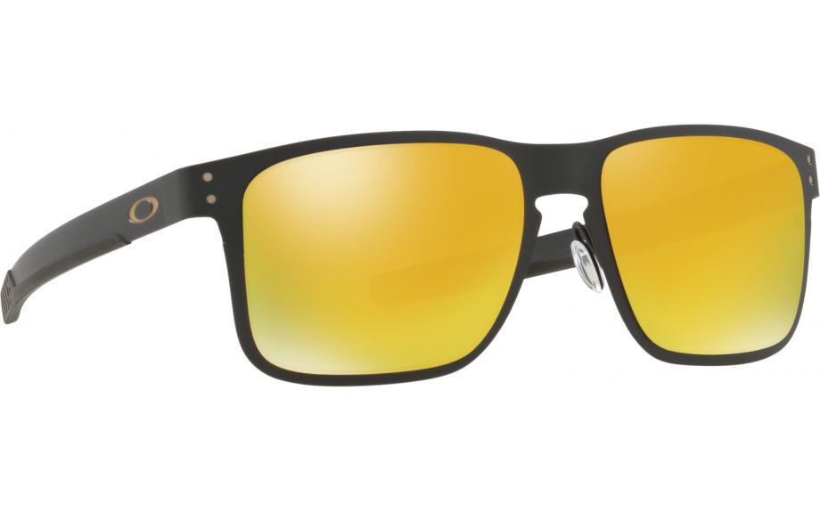 51883e41767 Oakley Holbrook Metal Sunglasses. zoom. 360° view. Frame: Matte black.  Lens: 24K Iridium
