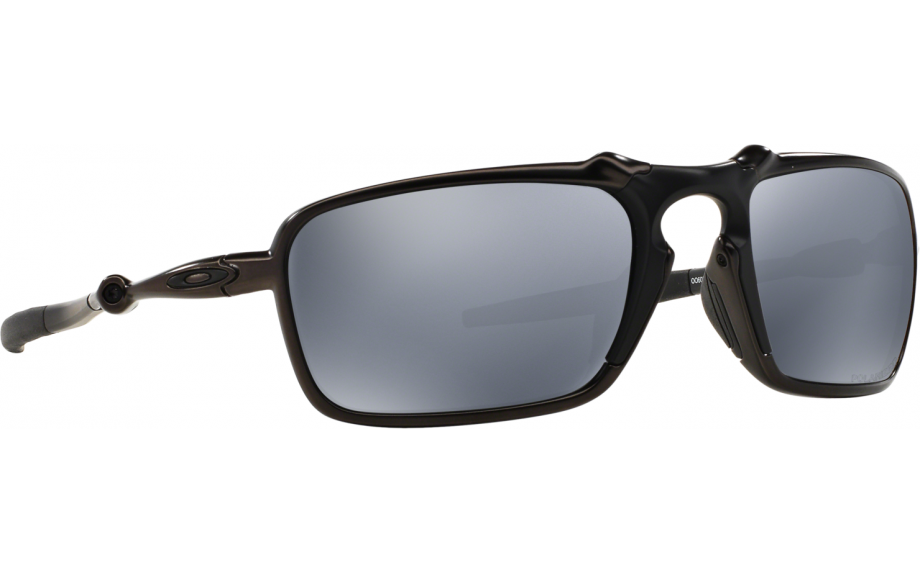 e8f4eb21d0 Oakley Badman OO6020-01 Sunglasses