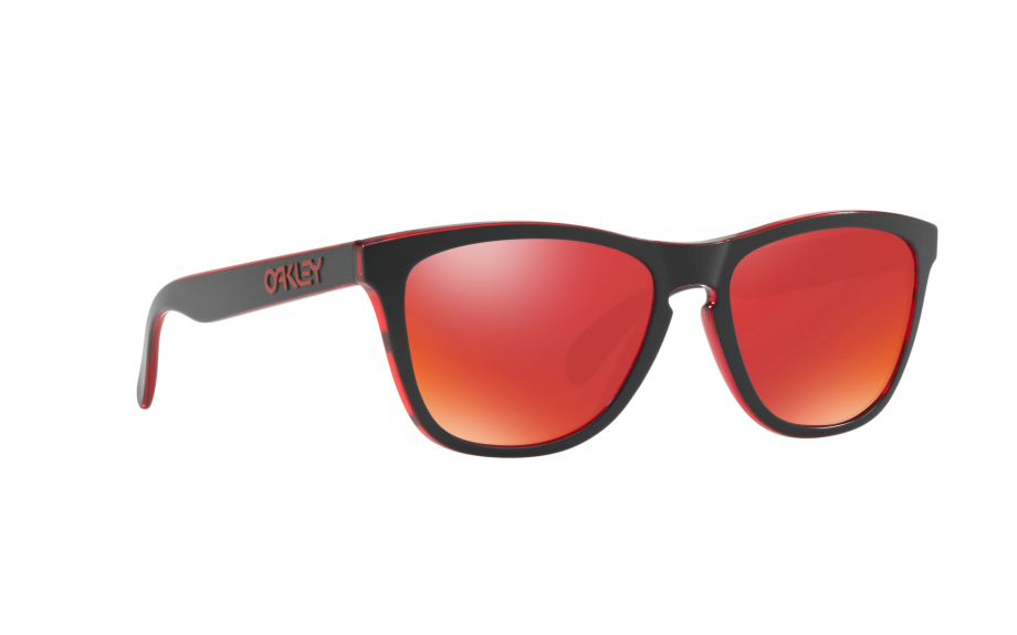 Oakley Frogskins OO9013 A7 Sonnenbrille in eclipsed red 55/17 GnGC4