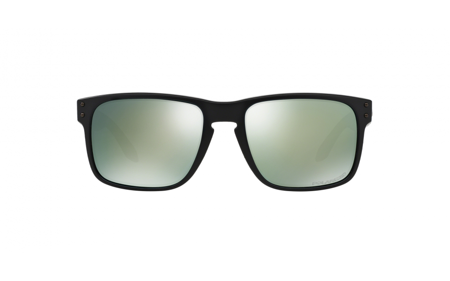d36eca26110 zoom. 360° view. model shot. Click to view product videos. Oakley  prescription sunglasses overview. Frame  Matte Black Lens  Emerald Iridium  Polarised