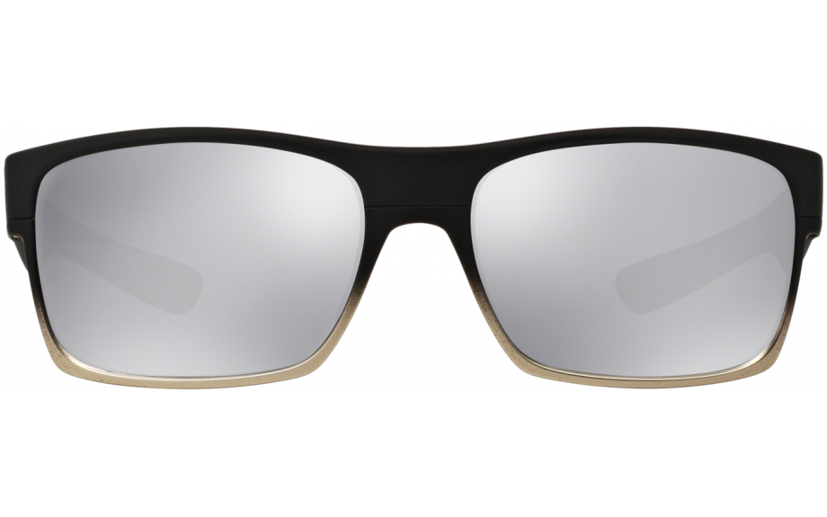 87d1b915ffc Oakley Two Face Machinist Collection Sunglasses. zoom. 360° view. Frame  Matte  Black Lens  Chrome Iridium