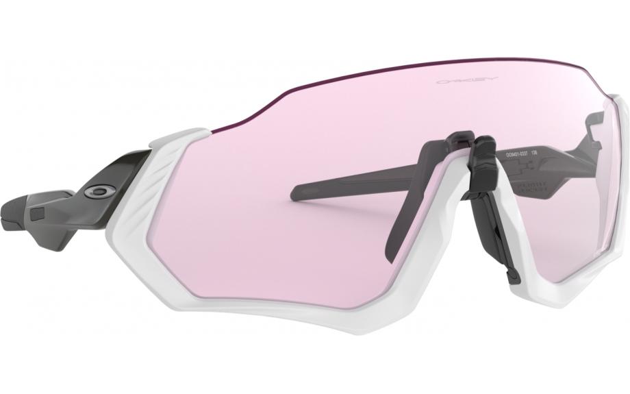 0790634d9a12 Oakley Flight Jacket Sunglasses. zoom. 360° view. Frame: Matte grey. Lens: Prizm  low light