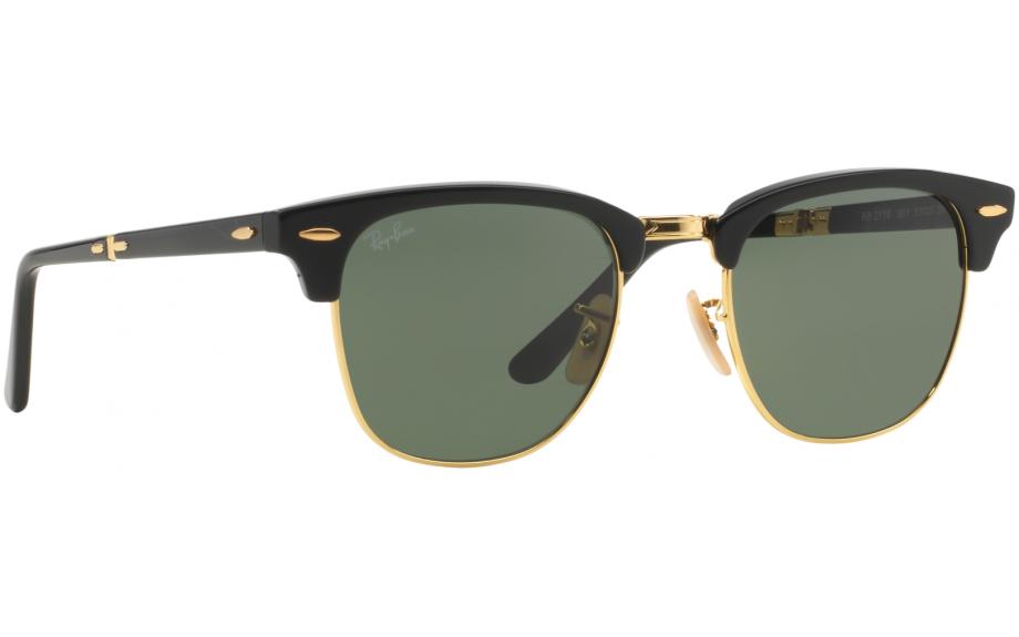 Ray-Ban Folding Clubmaster RB2176 901 51 Prescription Sunglasses   Shade  Station 8a5c634583