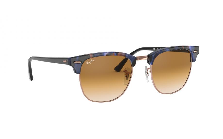 daf2ec6cc0b0 Ray-Ban CLUBMASTER RB3016 125651 49 Sunglasses