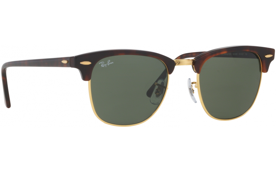 ray-ban clubmaster rb3016 w0366 medium