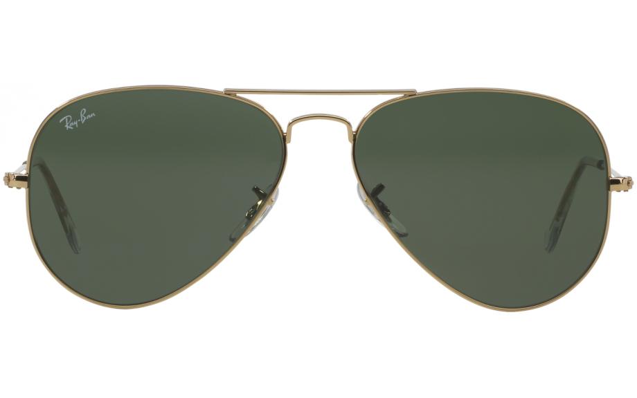 ray ban pilot aviator sunglasses  Ray-Ban Aviator RB3025 L0205 58 Sunglasses