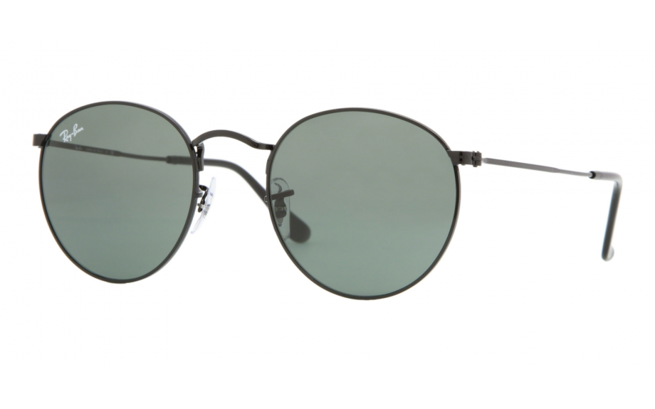 b02ab6a0b5 ... promo code ray ban round metal rb3447 002 47 sunglasses shade station  1e623 955cd