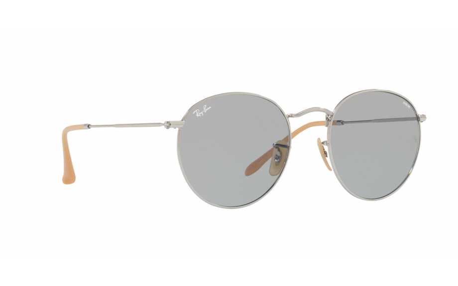 Ray-Ban RB3447 Sonnenbrille Silber 9065I5 50mm h3QtZWq4FN