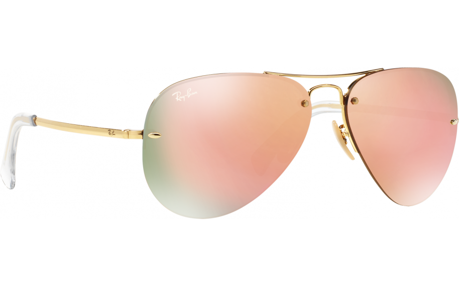 Ray-Ban RB3449 Sonnenbrille Gold 001/2Y 59mm ixNsUE