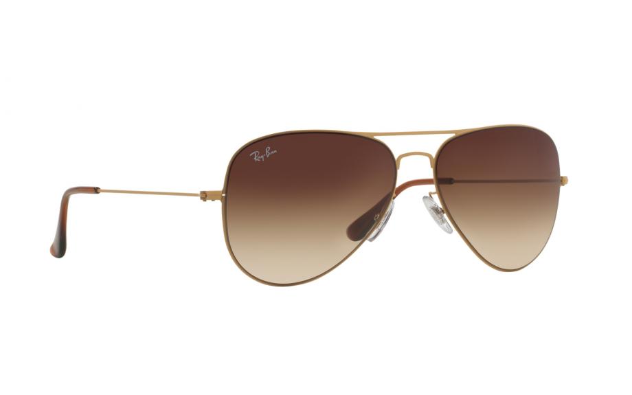 3c81fda52b8 Ray-Ban Aviator Flat Metal RB3513 149 13 58 Sunglasses