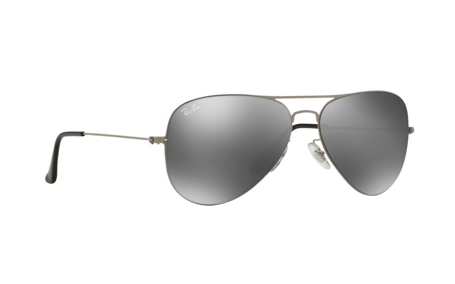 38f5ee258ad36 Ray-Ban Aviator Flat Metal RB3513 154 6G 58 Sunglasses