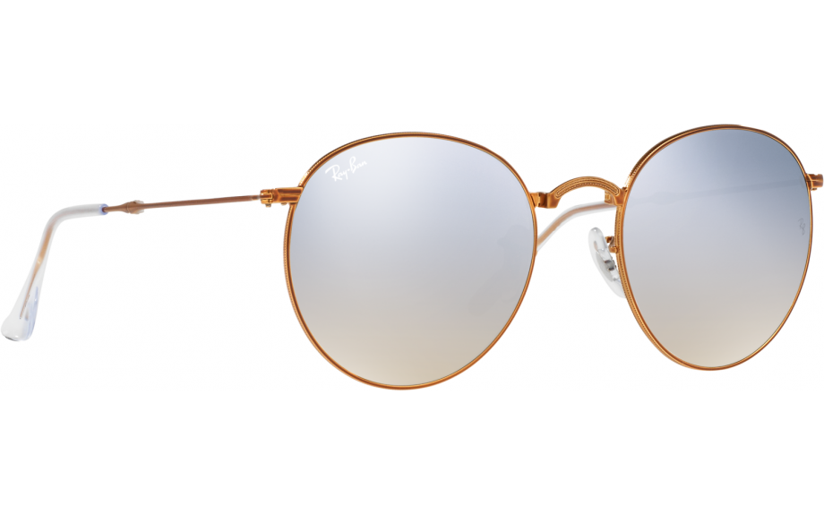 c67e3a75a5a2b Ray-Ban Round Metal Folding RB3532 198 9U 53 Sunglasses