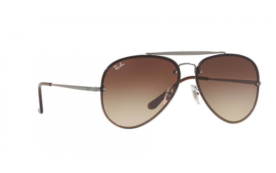 6367d06dd Ray-Ban Blaze Aviator RB3584N 004/13 58 Sunglasses | Shade Station
