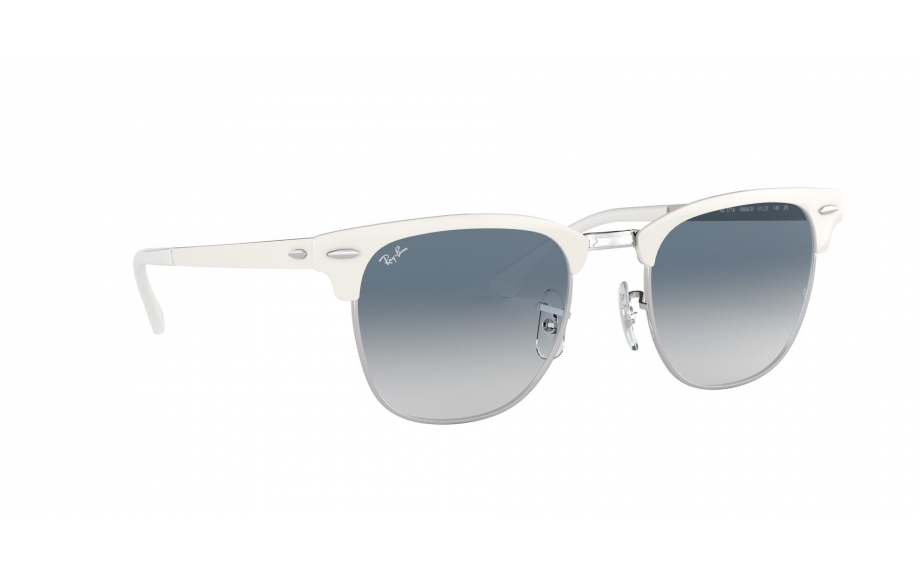 4cb3b7a15 Ray-Ban Clubmaster Metal RB3716 90883F 51 Sunglasses | Shade Station