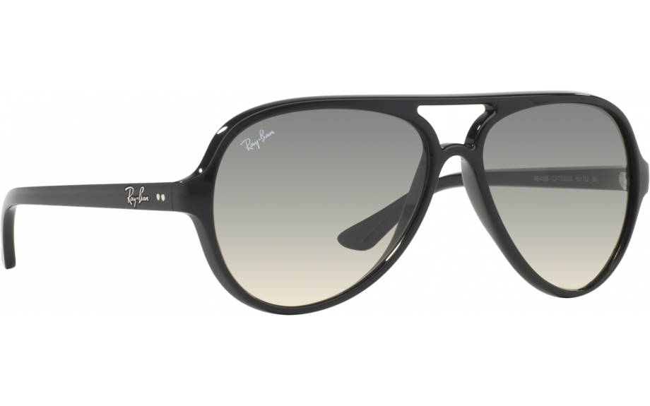 abdfb06d4b7 Ray-Ban CATS 5000 RB4125 601 32 59 Prescription Sunglasses